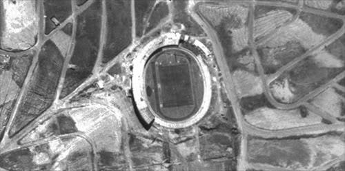 Foto antiga Estádio do Morumbi - Anos 50