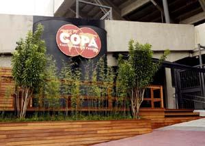 Estádio Morumbi - Restaurante Copa