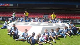 Estádio Morumbi - Símbolo do SPFC no campo