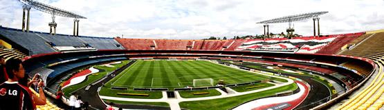 Vista Panorâmica do Estádio do Morumbi